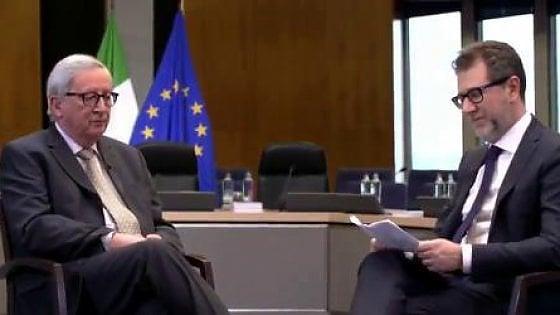 Cosa sappiamo sull'incontro di Juncker con Conte e Mattarella del 2 aprile