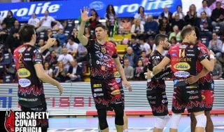 Volley, playoff Superlega: Verona spaventa Civitanova, facile per Trento e Perugia