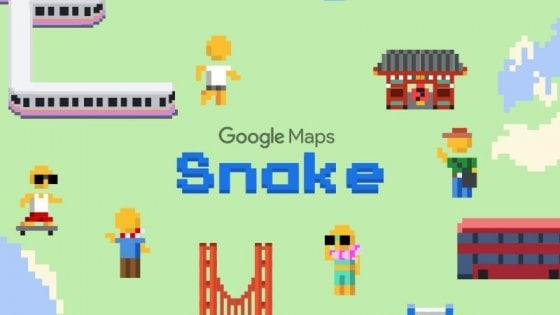Torna Snake e si gioca su Google Maps