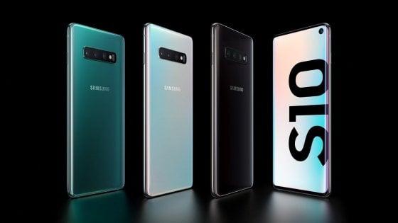 Galaxy S10, potenza e design: il top anche sotto sforzo
