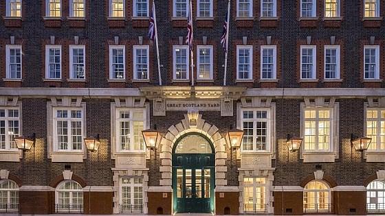 Londra. Un hotel di lusso nella prima sede di Scotland Yard