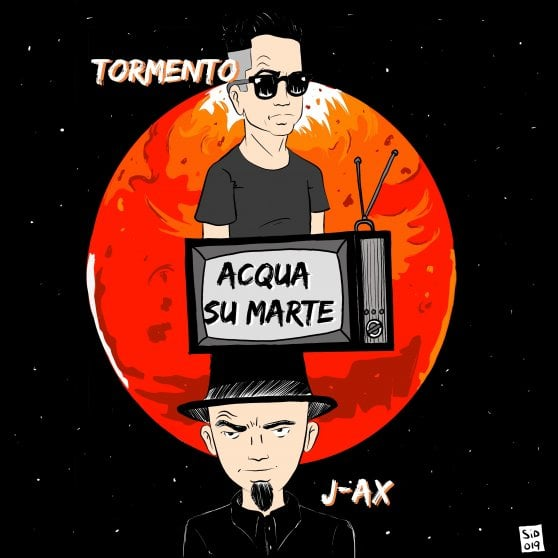 Tormento e J-Ax insieme: 'Acqua su Marte' e' il loro primo brano