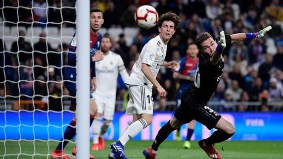 Zinedine e Luca Zidane, quando il padre schiera il figlio in porta (e lui prende due gol)
