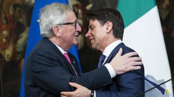 """Ue, Juncker: """"Alcuni ministri italiani sono dei bugiardi. Preoccupato per economia italiana"""""""