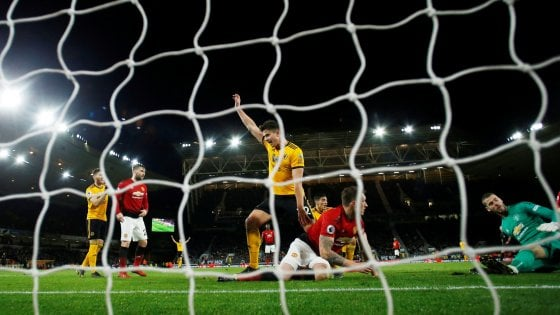 Inghilterra: lo United cade ancora a Wolverhampton, Fulham retrocede