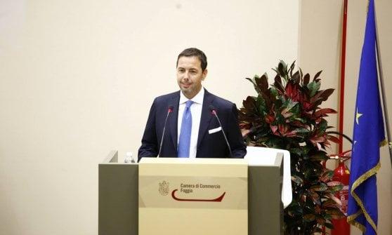 Fabio Porreca, presidente della Camera di Commercio di Foggia
