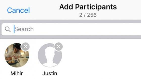 WhatsApp, nuova funzione per evitare inviti a gruppi indesiderati