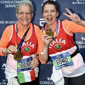 Maratona di New York, l'icona instagram è una sessantenne friulana