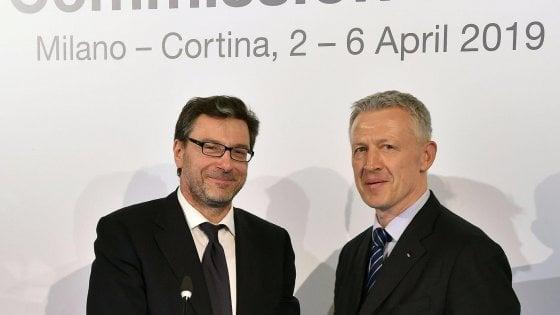 Milano-Cortina 2026, il governo firma le garanzie