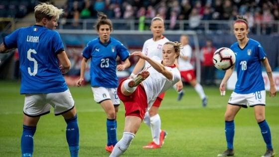 Nazionale donne, bel gioco e pari in Polonia: prove azzurre di mondiale