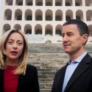 """Europee. Meloni: """"Caio Giulio Cesare, il pronipote di Mussolini, si candida con Fratelli d'Italia"""""""