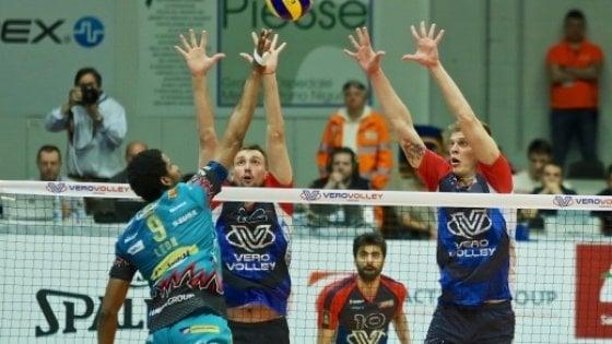Volley, playoff a sorpresa: Perugia e Trento costrette alla 'bella', Civitanova in semifinale