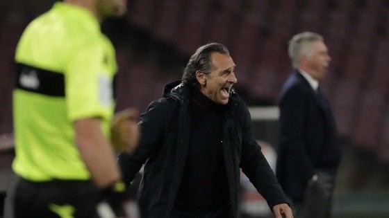 """Genoa, Prandelli: """"Grande soddisfazione, una prova convincente"""""""