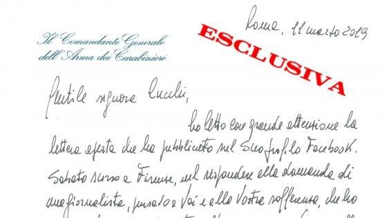 """Cucchi, la lettera del generale Nistri a Ilaria: """"Inflessibili con chi ha infangato uniforme"""""""