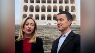Il candidato di Fdi Caio Giulio Cesare Mussolini: