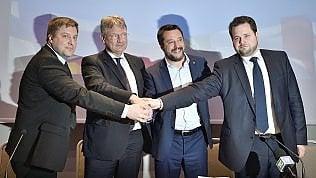 Sovranisti, Salvini: Puntiamo a essere il primo gruppo nel Parlamento europeo. Orbán venga con noi