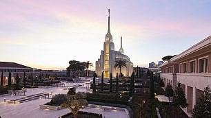 I mormoni del tempio accanto: reportage di un profano