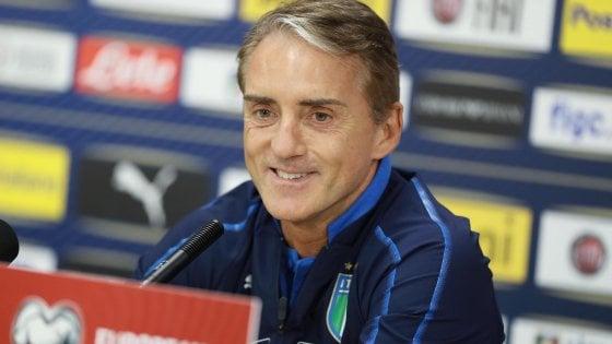 """Nazionale, caso calendario Serie A. Mancini: """"Se finisce il 24 maggio non potrei dare vacanze agli azzurri"""""""