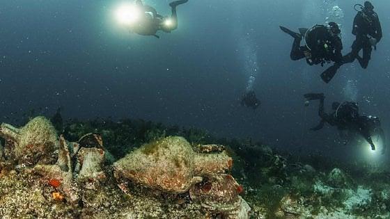 Grecia, nave di 2500 anni fa diventa museo subacqueo. Ne arriveranno altri