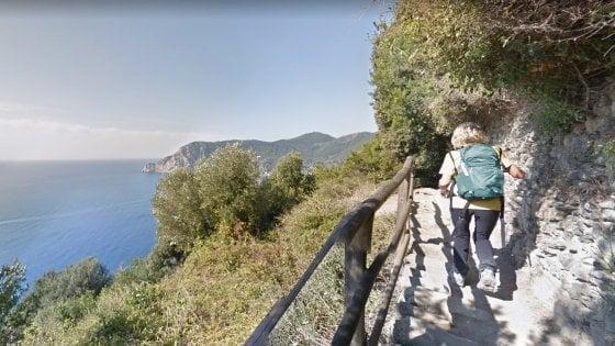 Dall'Appia Antica alle Cinque Terre, il trekking nella natura parte da Google Maps