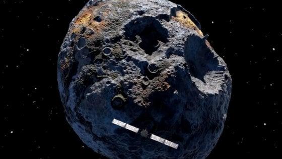 Gli asteroidi metallici erano simili ai vulcani
