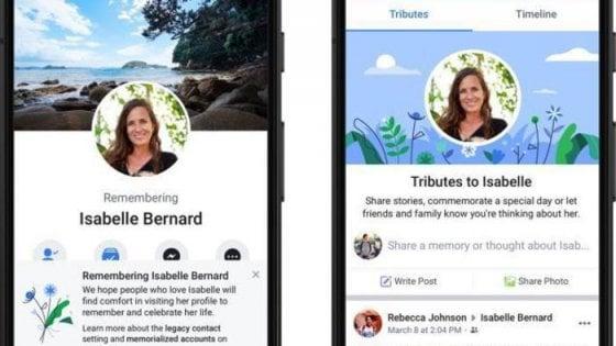Facebook, l'intelligenza artificiale rintraccerà i profili dei defunti