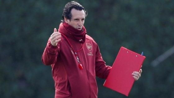 Arsenal, Emery non vede favoriti: ''Contro Napoli sfida da 50 e 50''