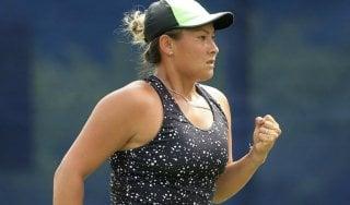Tennis: sotto 6-0, 5-0 e con un match point contro. Eppure Tara Moore vince l'incontro