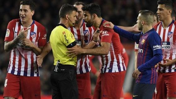 Extra Lazio, maxi squalifica per Diego Costa: stagione finita