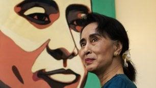 La terza faccia dell'equilibrista Aung San Suu Kyi