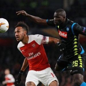 Razzismo, insulti a Koulibaly: l'Arsenal indaga su un suo tifoso