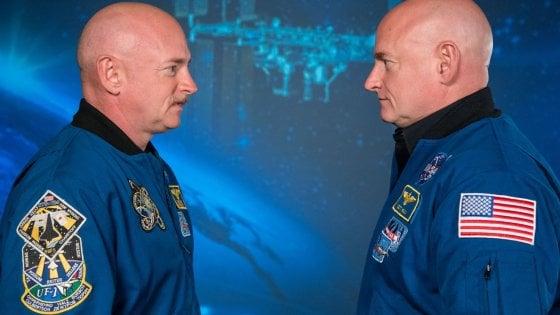Ecco come cambia l'organismo di un uomo che va nello spazio: i gemelli Scott e Mark Kelly a confronto