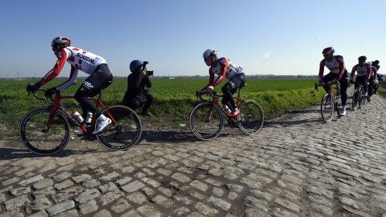 Philippe Gilbert ha vinto la Parigi-Roubaix 2019