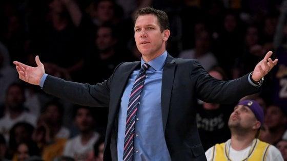 Basket, Nba: i Lakers divorziano da Walton, Tyroon Lue in pole