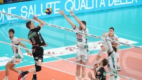 Volley, Perugia e Trento non sbagliano la bella: è semifinale