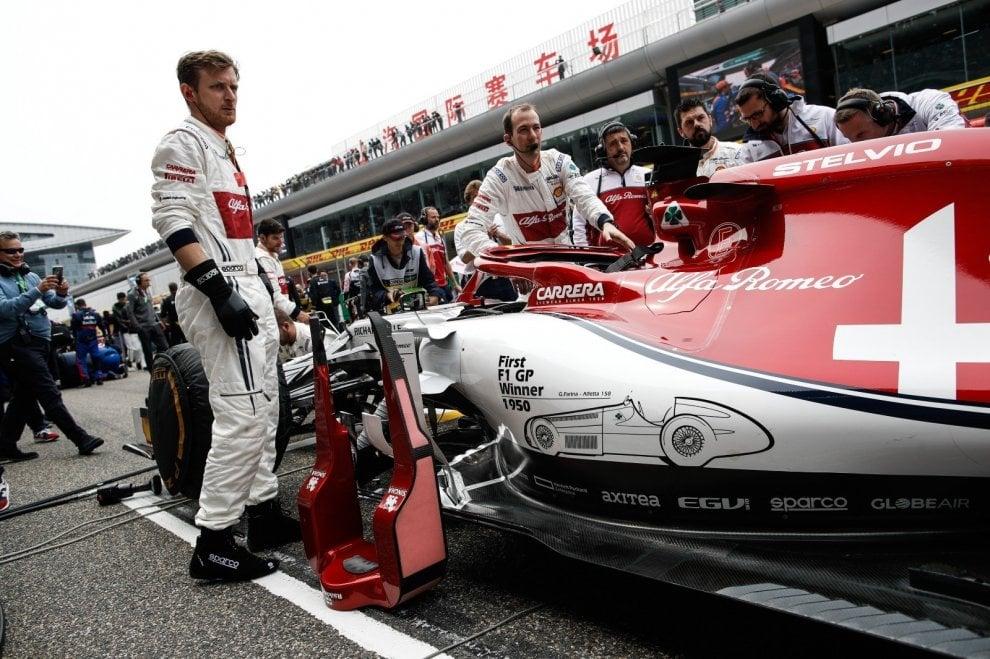 Alfa Romeo, livrea celebrativa per i 1.000 GP