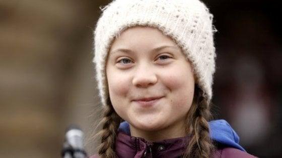 Greta Thunberg in viaggio verso Roma per la manifestazione sul clima