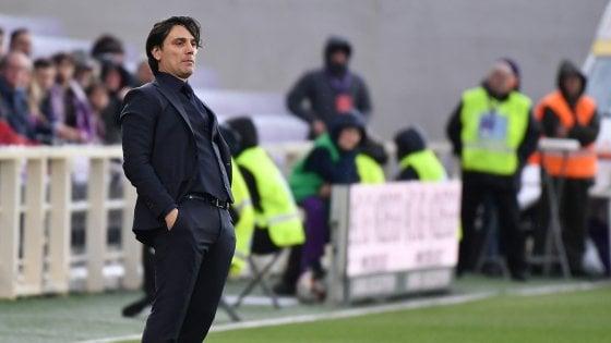 """Fiorentina, Montella: """"Squadra sta bene ed ha voglia"""""""
