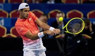 Tennis, Montecarlo: Berrettini subito fuori, ko con Dimitrov