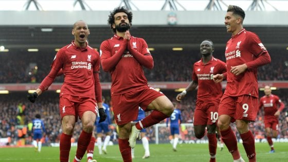 Inghilterra, Liverpool-Chelsea 2-0: i Reds respingono l'assalto dei City