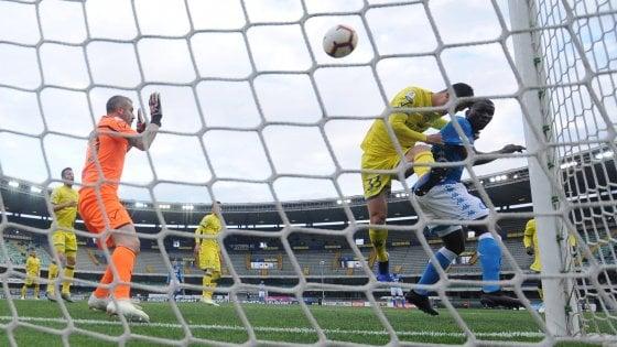 Chievo-Napoli 1-3: Koulibaly rinvia la festa Juve, clivensi retrocessi in B