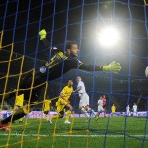 Frosinone-Inter 1-3: Nainggolan, Perisic e Vecino. I nerazzurri non sbagliano