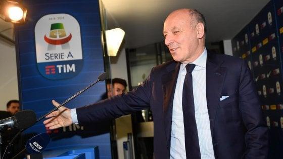 Inter, Marotta: ''Giusto dare fiducia a Spalletti. Icardi? Futuro dipende anche dalla sua volontà''