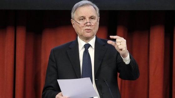 Il governatore Ignazio Visco