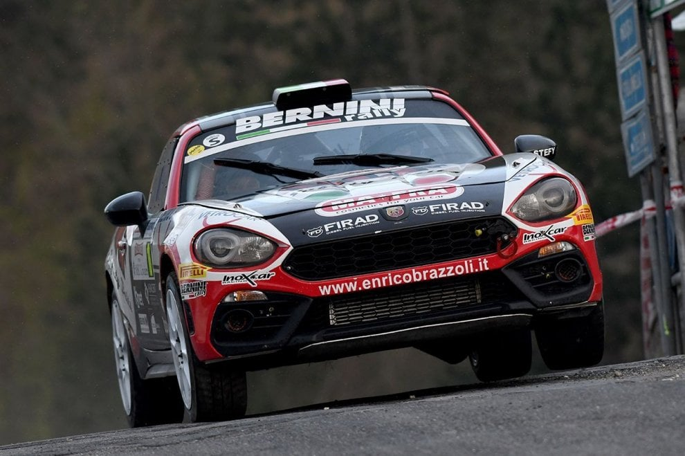 Terza vittoria consecutiva in categoria FIA R-GT per l'Abarth 124 rally