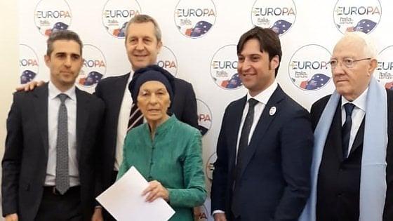 """+Europa, tra i capilista Bonino, Pizzarotti e Della Vedova. Polemica con il Pd sul """"voto utile"""""""