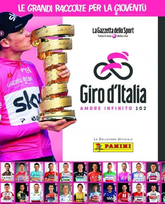 Ciclismo, il Giro d'Italia in figurina: arriva la collezione Panini