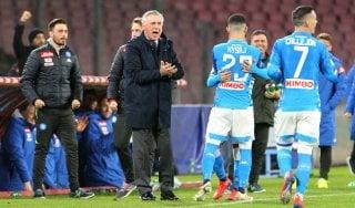Napoli: niente sold out contro l'Arsenal, Ancelotti pensa al tridente
