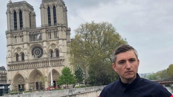 """Il pompiere di Notre Dame: """"Un incubo, ma siamo riusciti a salvare la facciata e le torri"""""""