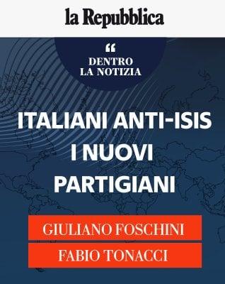"""Tonacci e Foschini: """"Italiani anti-Isis, i nuovi partigiani"""""""
